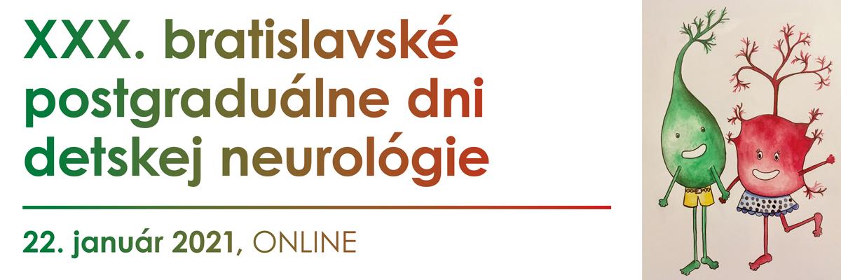 XXX. bratislavské postgraduálne dni detskej neurológie