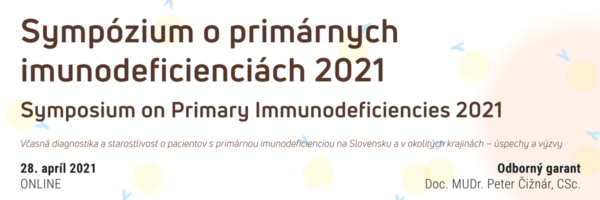 Sympózium o primárnych imunodeficienciách 2021